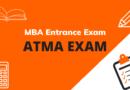 MBA Entrance Exam – ATMA Exam
