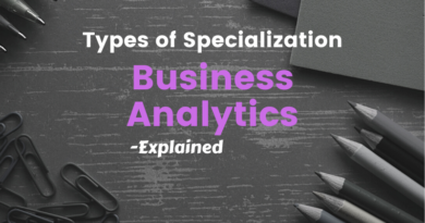 Types of Specialization – Business Analytics