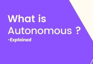 What is Autonomous?