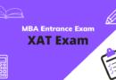 MBA Entrance Exam – XAT Exam