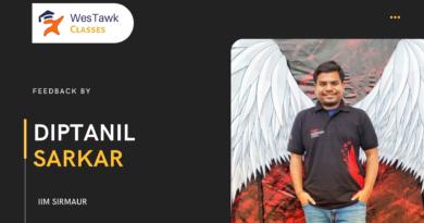Westawk Classes Feedback by Diptanil Sarkar