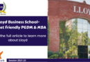 Lloyd Business School| PGDM Fees | Placement | Eligibility | Scholarship | Admission 2021